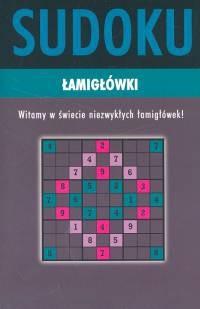 Okładka książki Sudoku łamigłówki