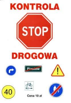 Okładka książki Stop-kontrola drogowa