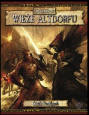 Okładka książki Wieże Altdorfu - Kampania ścieżki przeklętych - cz 2