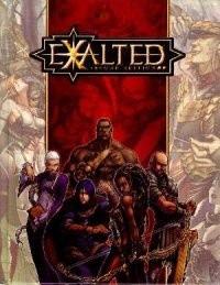 Okładka książki Exalted.