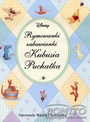 Okładka książki Rymowanki zabawianki Kubusia Puchatka