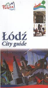 Okładka książki łódź-city guide