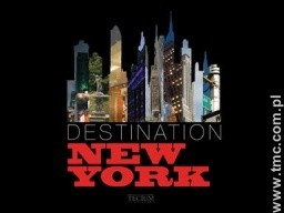 Okładka książki DESTINATION NEW YORK