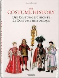 Okładka książki THE COSTUME HISTORY.