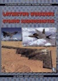 Okładka książki Lotnictwo wojskowe Stanów Zjednoczonych.