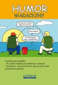 Okładka książki Humor wakacyjny.