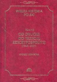 Okładka książki Od Drugiej do Trzeciej Rzeczypospolitej (1945-2001)