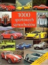 Okładka książki 1000 sportowych samochodów