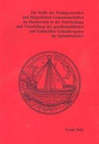 Okładka książki Die Rolle der Stadtgemeinden
