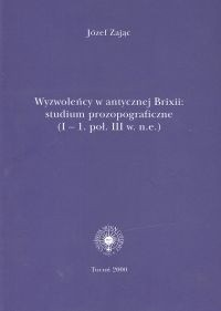 Okładka książki Wyzwoleńcy w antycznej