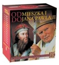 Okładka książki Od Mieszka I do Jana Pawła II. Kompaktowa historia Polski na 30 CD