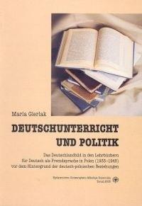 Okładka książki Deutschunterricht und Politik