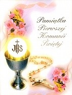 Okładka książki Pamiątka Pierwszej Komunii świętej