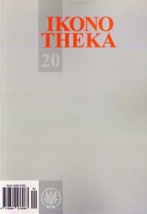 Okładka książki Ikonotheka. zeszyt 20