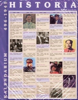 Okładka książki Historia. Tablice