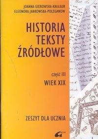Okładka książki Historia 3. Wiek XIX zrozumieć współczesny świat