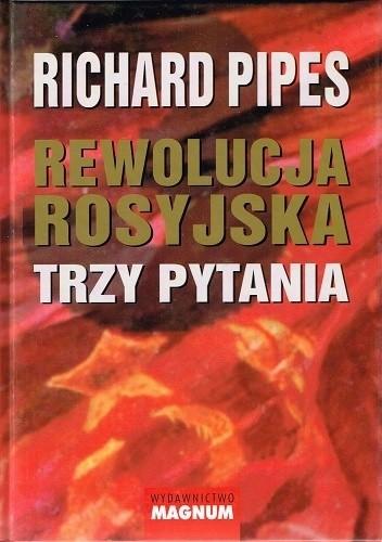 Okładka książki Rewolucja rosyjska Trzy pytania