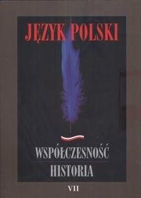 Okładka książki Język polski Współczesność Historia 7