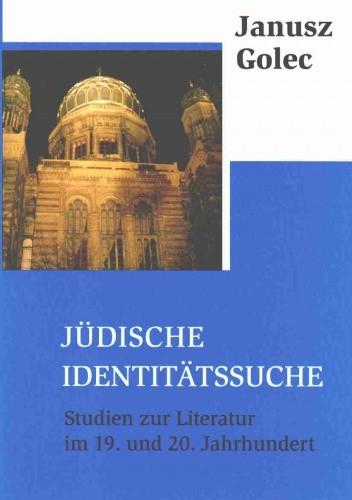 Okładka książki Judische Identitatssuche