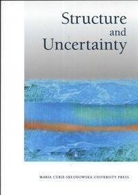 Okładka książki Structure und Uncentainty