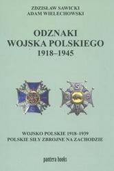 Okładka książki Odznaki wojska polskiego 1918-1945