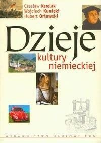 Okładka książki Dzieje kultury niemieckiej