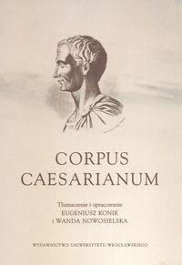 Okładka książki Corpus Caesarianum