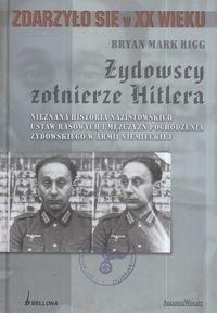 Okładka książki Żydowscy Żołnierze Hitlera