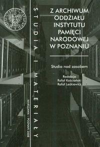 Okładka książki z archiwum oddziałi IPN w Poznaniu/Studia i materiały/