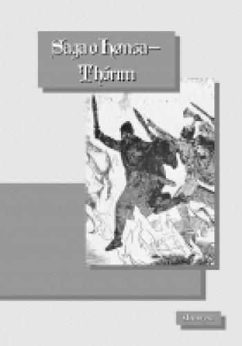 Okładka książki Saga o Honsa Thorim