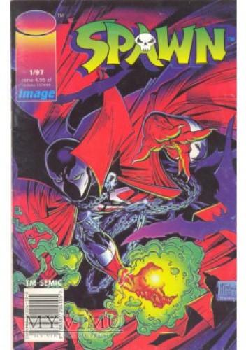 Okładka książki Spawn 1/1997
