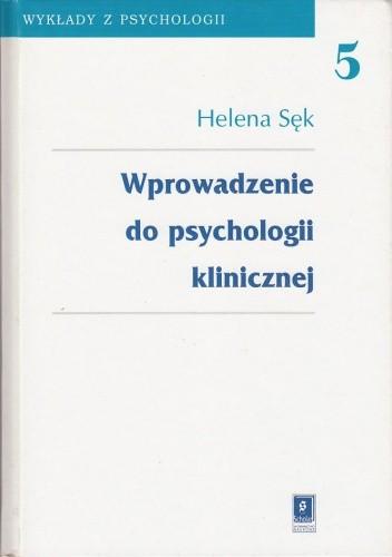 Okładka książki Wprowadzenie do psychologii klinicznej