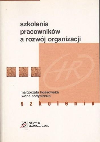 Okładka książki Szkolenia pracowników a rozwój organizacji