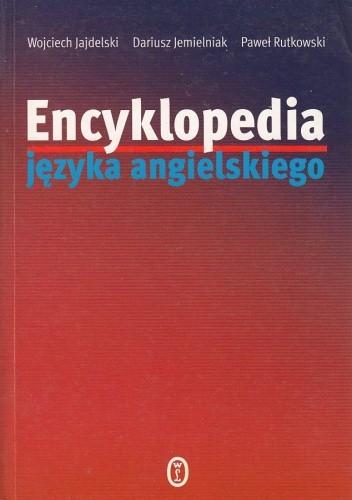 Okładka książki Encyklopedia języka angielskiego