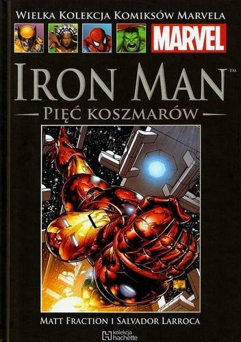 Okładka książki Iron Man: Pięć Koszmarów