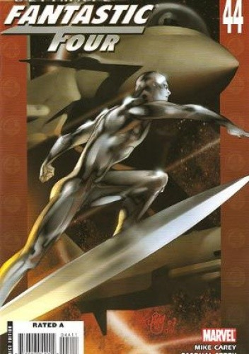 Okładka książki Ultimate Fantastic Four #44