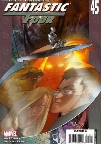 Okładka książki Ultimate Fantastic Four #45