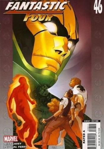 Okładka książki Ultimate Fantastic Four #46