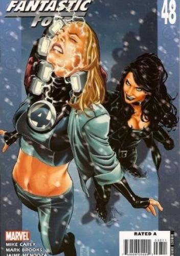 Okładka książki Ultimate Fantastic Four #48