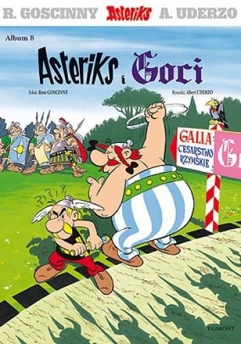 Okładka książki Asteriks i Goci