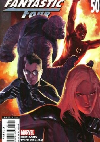 Okładka książki Ultimate Fantastic Four #50