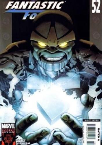 Okładka książki Ultimate Fantastic Four #52