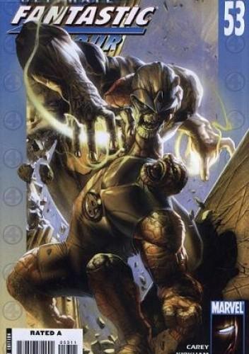 Okładka książki Ultimate Fantastic Four #53