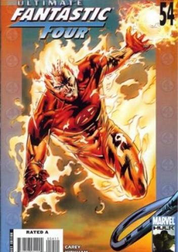 Okładka książki Ultimate Fantastic Four #54