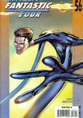 Okładka książki Ultimate Fantastic Four #56