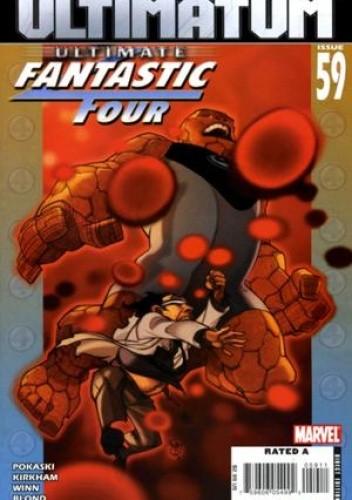 Okładka książki Ultimate Fantastic Four #59