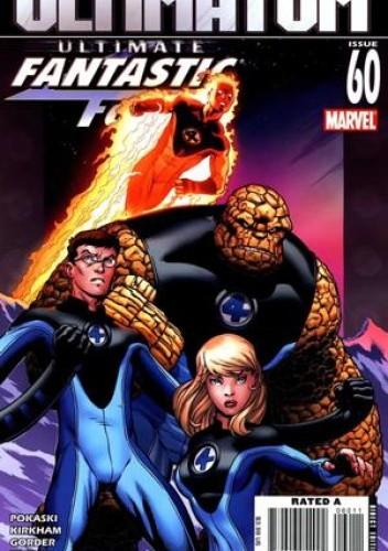 Okładka książki Ultimate Fantastic Four #60