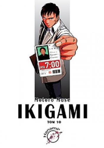 Okładka książki Ikigami #10