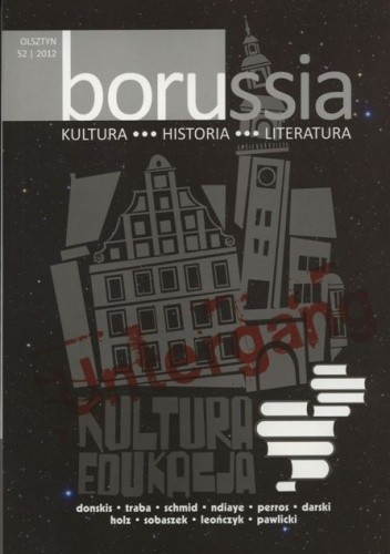 Okładka książki Borussia 52/2012