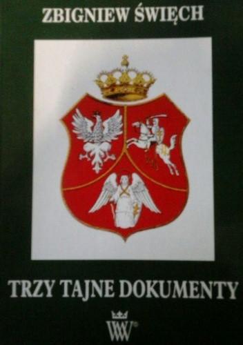 Okładka książki Trzy tajne dokumenty